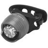 RFR Diamond HQP Fietsverlichting white LED grijs/zwart